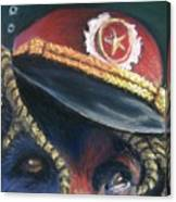 Colonel Nose Knows Close-up Canvas Print