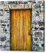 Colonia Old Door Canvas Print