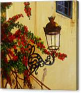 Colonial Corner Canvas Print