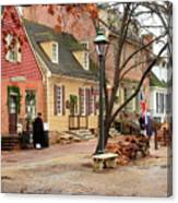 Colonial Morning Canvas Print