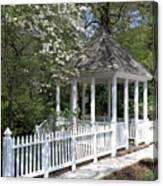 Colonial Springtime Canvas Print