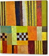 Color And Pattern Abstract Canvas Print