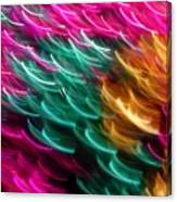 Color Curls Canvas Print
