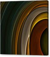 Color Curves Canvas Print