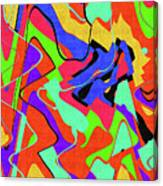 Color Drawing Abstract #3 Canvas Print