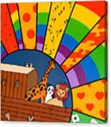 Color Flood Canvas Print