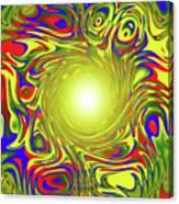 Color Funnel Canvas Print