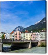 Color In Innsbruck Canvas Print