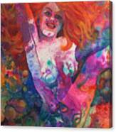 Color Me Mardi Gras Canvas Print