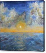 Color Of Ocean Canvas Print