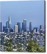 Color Pano Los Angeles California  Canvas Print