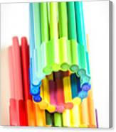 Color Pens 10 Canvas Print