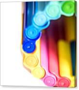 Color Pens 8 Canvas Print