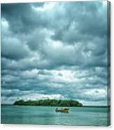 Color Play Before Storm Canvas Print