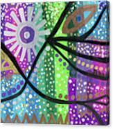 Color Rumble Canvas Print