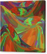 Color Swells Canvas Print