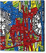 Color Time Canvas Print