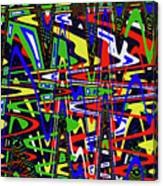 Color Works Abstract Canvas Print
