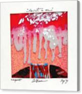 Color1 Monoprint Canvas Print