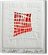 Color41 Monoprint Canvas Print