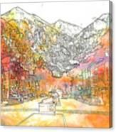 Colorado 01 Canvas Print