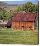 Colorado Barn 5817 Canvas Print