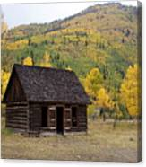 Colorado Cabin Canvas Print