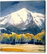 Colorado Fall Canvas Print
