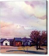 Colorado Farm Canvas Print
