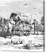 Colorado Gold Rush, 1859 Canvas Print