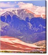 Colorado Great Sand Dunes National Park  Canvas Print