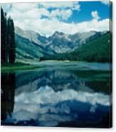 Colorado Lake Canvas Print