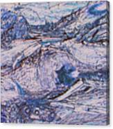 Colorado Mining Relics Canvas Print