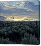 Colorado Morning Canvas Print
