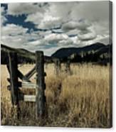 Colorado Mountain Meadow Canvas Print