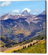 Colorado Mountains 1 Canvas Print