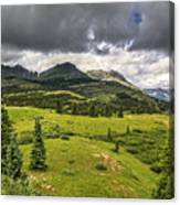 Colorado Mountains After Summer Rain Canvas Print