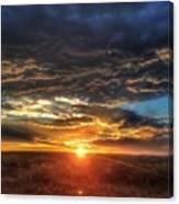 Colorado Plains Sunset Canvas Print