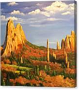 Colorado Red Rocks Canvas Print