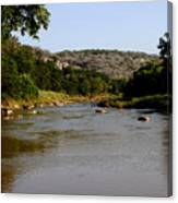 Colorado River Bend Texas Canvas Print