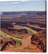 Colorado River Ox Bow Canvas Print