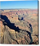 Colorado River Valley Canvas Print