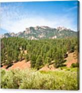 colorado Rockies 13 Canvas Print