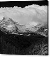 Colorado Rocky Mountains Continental Divide Canvas Print