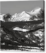 Colorado Rocky Mountains Canvas Print