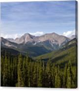Colorado Rocky Mountains Near Monarch Pass Canvas Print
