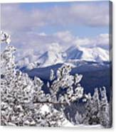 Colorado Sawatch Mountain Range Canvas Print