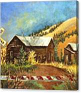 Colorado Shed Canvas Print