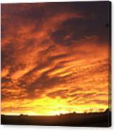 Colorado Sunrise 4 Canvas Print
