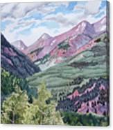 Colorado Valley Canvas Print